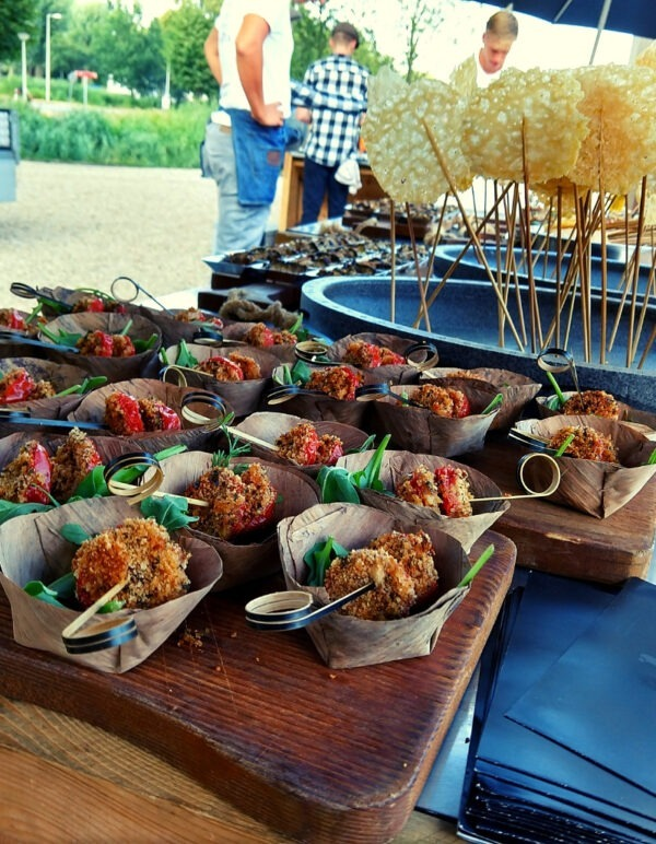 Italiaanse hapjes op locatie - italiaanse catering